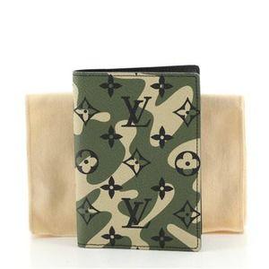 Louis Vuitton Monogramouflage Passport Cover case